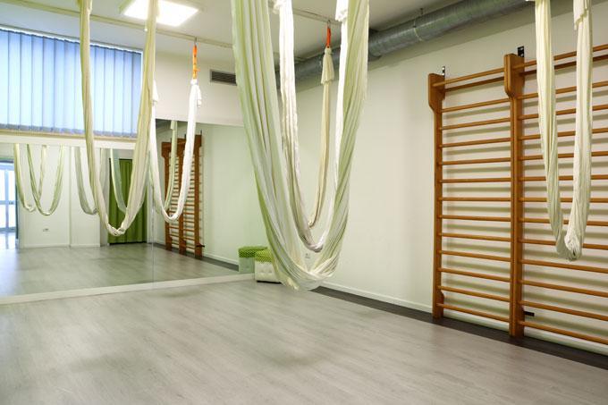 Sala Yoga in volo - Fisiocarisma