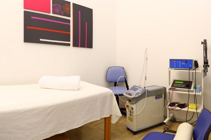 Sala per laserterapia - Fisiocarisma